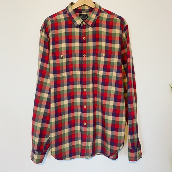 J.Crew Midweight Flannel